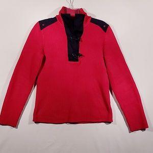 Ralph Lauren Active red knit sweater medium